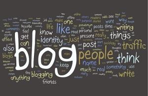 blogging word cloud